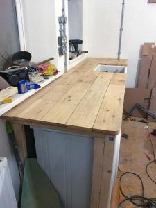 Floorboards cut to size